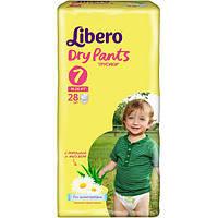Подгузники Libero Dry Pants 7 16-26 кг 28 шт
