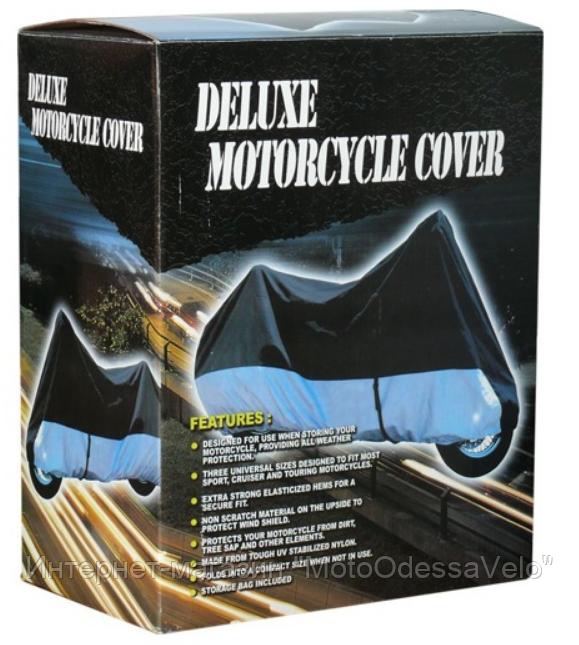 Моточехол Delux для мотоцикла XL 272x104x102 см