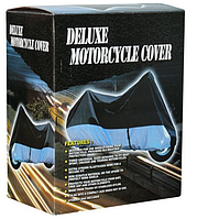 Моточехол Delux для мотоцикла L 216x88x122 см