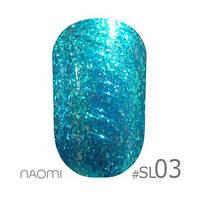 Гель-лак Naomi Selfilluminated Colors №3, 6 мл