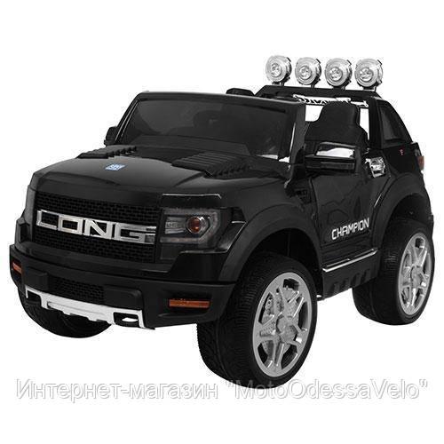 Электромобиль Джип Champion Long черный