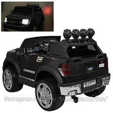 Электромобиль Джип Champion Long черный, фото 2