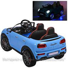Электромобиль Mini Cooper S синий, фото 3