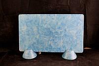 Гранж лазурный (ножки-конусы) 606GK5GRJA622 + 606NK622