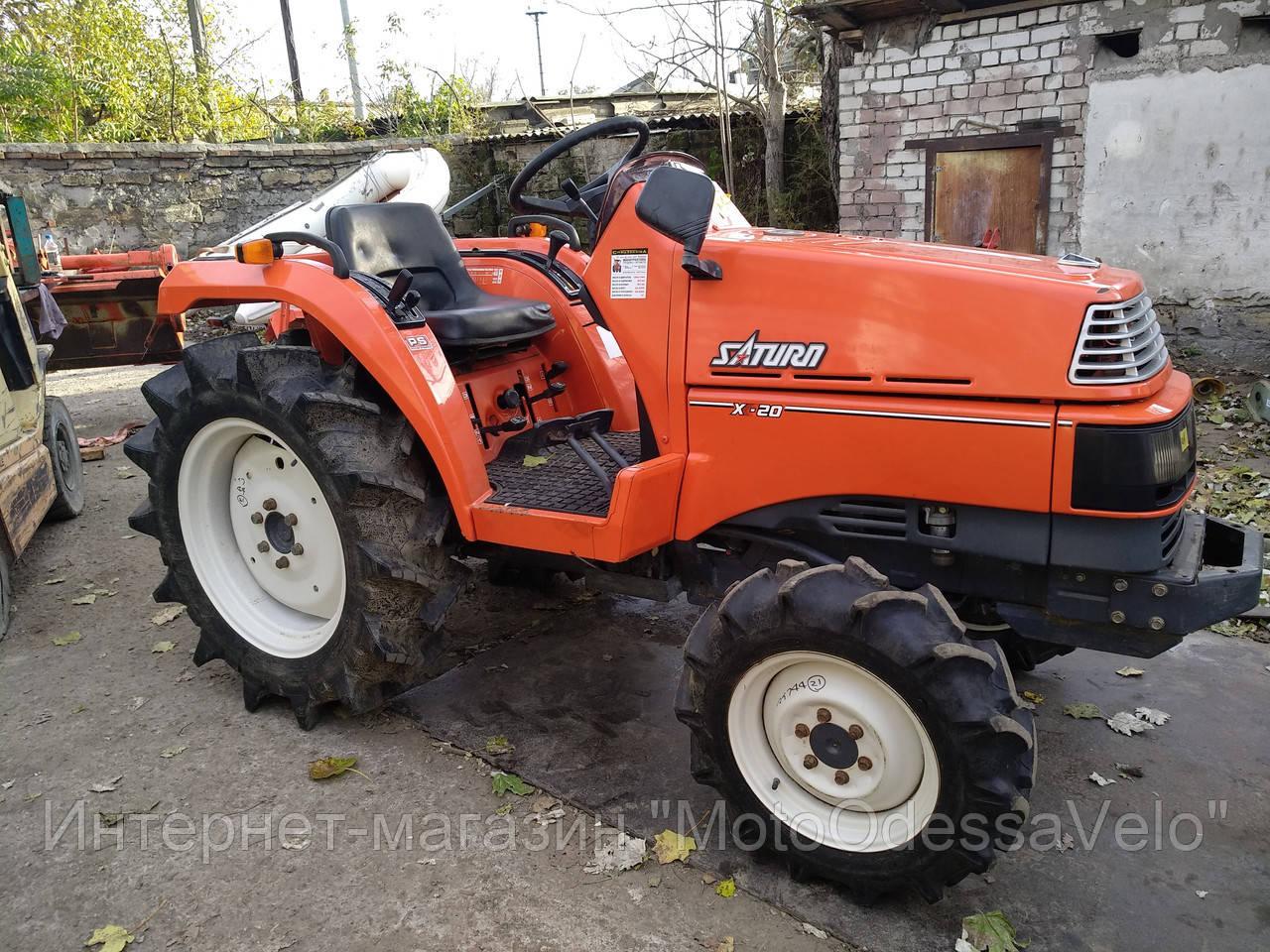 Мини трактор Kubota Saturn x20 4wd