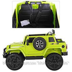 Электромобиль Джип Mighty зеленый, фото 2