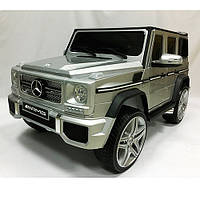 Электромобиль Mercedes-Benz G-Wagen серый