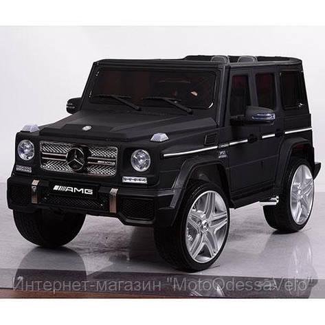 Электромобиль Mercedes-Benz G-Wagen черный, фото 2