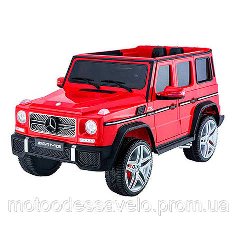 Электромобиль Mercedes-Benz AMG красный, фото 2