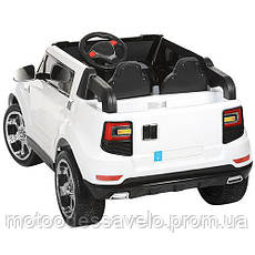 Электромобиль Джип Pickup 4WD белый, фото 2