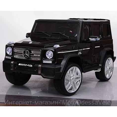 Электромобиль Mercedes-Benz AMG черный, фото 2