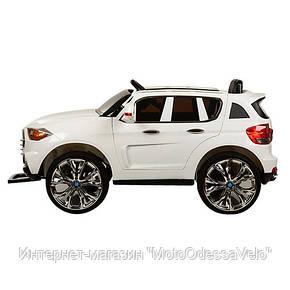 Электромобиль Land Cruiser белый, фото 2