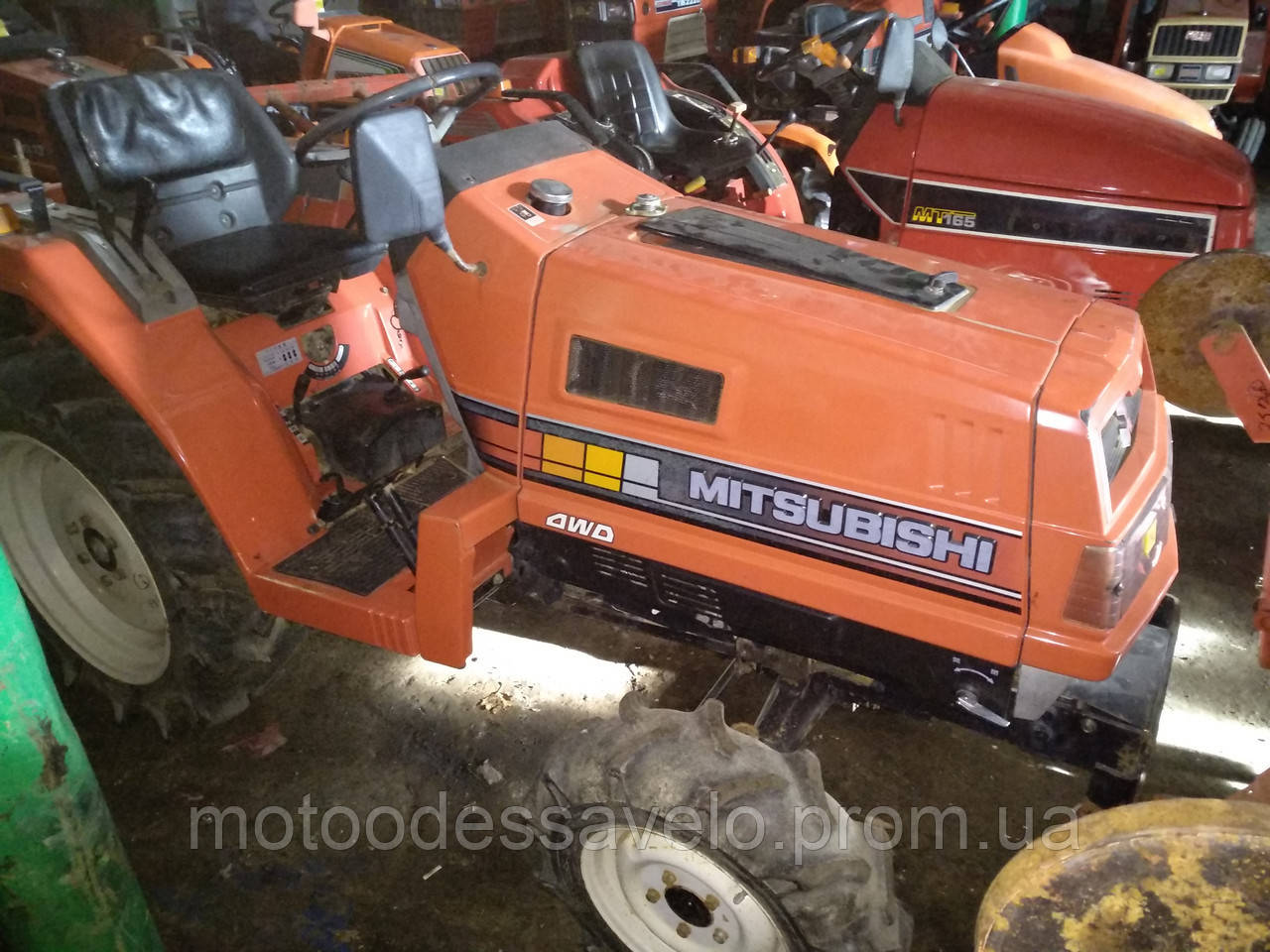 Мини трактор Mitsubishi MT 17D 4wd