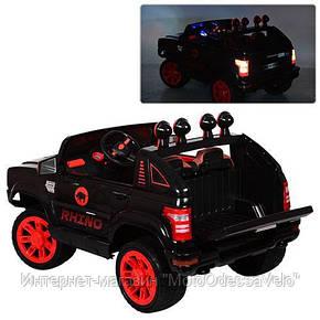 Электромобиль Джип Hummer черный, фото 2