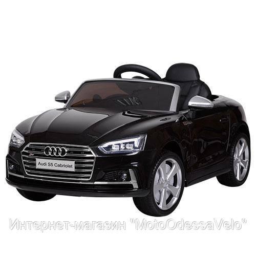 Электромобиль AUDI S5 черный