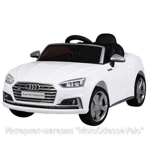 Электромобиль AUDI S5 белый