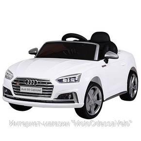 Электромобиль AUDI S5 белый, фото 2