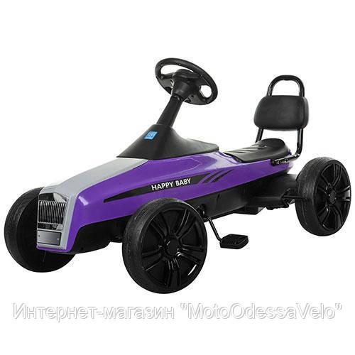 Педальная машинка КАРТ M 3412-9