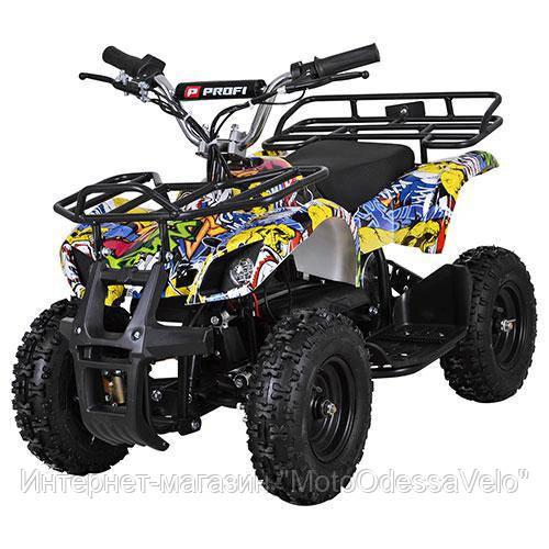 Электро квадроцикл Profy ATV 800W графити