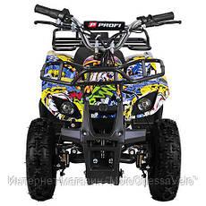 Электро квадроцикл Profy ATV 800W графити, фото 3