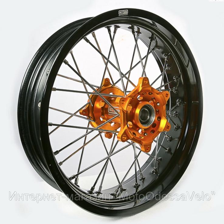 Диск алюминиевый спицованный GN-motors Suzuki 4.25-17