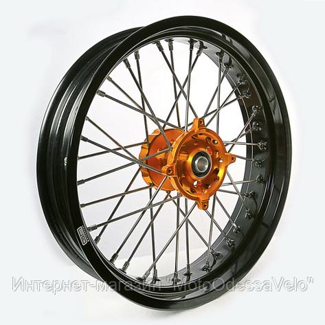 Диск алюминиевый спицованный GN-motors Suzuki 3.5-17, фото 2