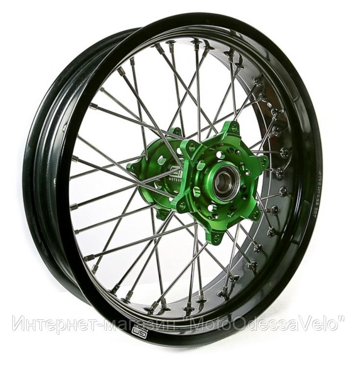 Диск алюминиевый спицованный GN-motors Kawasaki 5.0-17
