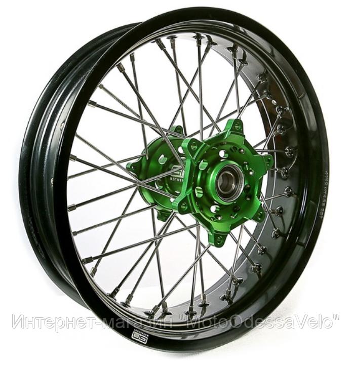 Диск алюминиевый спицованный GN-motors Kawasaki 4.25-17
