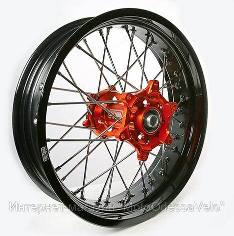 Диск алюминиевый спицованный GN-motors KTM 4.25-17, фото 2