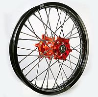 Диск алюминиевый спицованный GN-motors KTM 2.15-19+ тормозной диск 240 мм