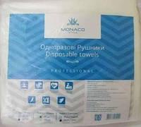Одноразовые полотенца Monaco Style Disposable Towels гладкие 35*40 см, 100 шт