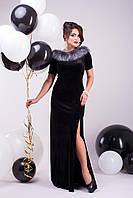 """Donna-M Платье """"Марсель"""" (черный) 2000000021829"""