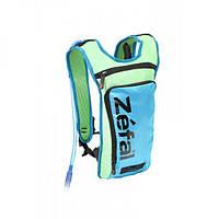 Рюкзак Zefal Z Hydro M,с гидратором 1,5л, зелено-синий