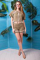 "Donna-M Блуза ""Тесса"" (оливковый хаки) 2000000035871"