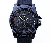Мужские часы Swiss army черные, фото 1