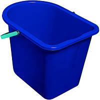 Ведро для уборки прямоугольное York синее 14 л
