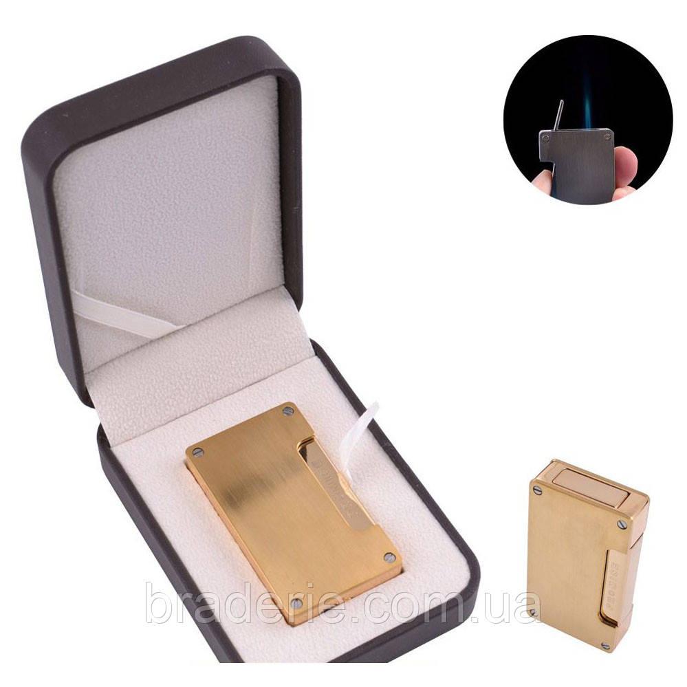 Зажигалка подарочная Promise в кожаной коробке 306-E11