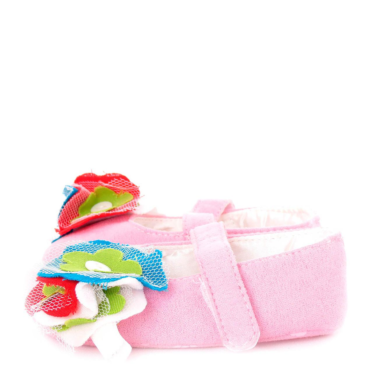 Пинетки для девочки Весна Berni Розовые