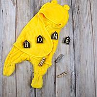 Конверт кокон с раздельными ножками (желтый) 0-6 мес MagBaby