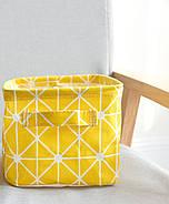 Корзина для игрушек Улыбка, желтый Berni, фото 7