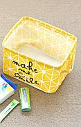Корзина для игрушек Улыбка, желтый Berni, фото 10
