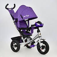 Велосипед трехколесный с поворотным сиденьем Best Trike 7700 В - 5670 (ткань Лен)