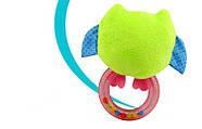 Мягкая погремушка Сова Happy Monkey, фото 2