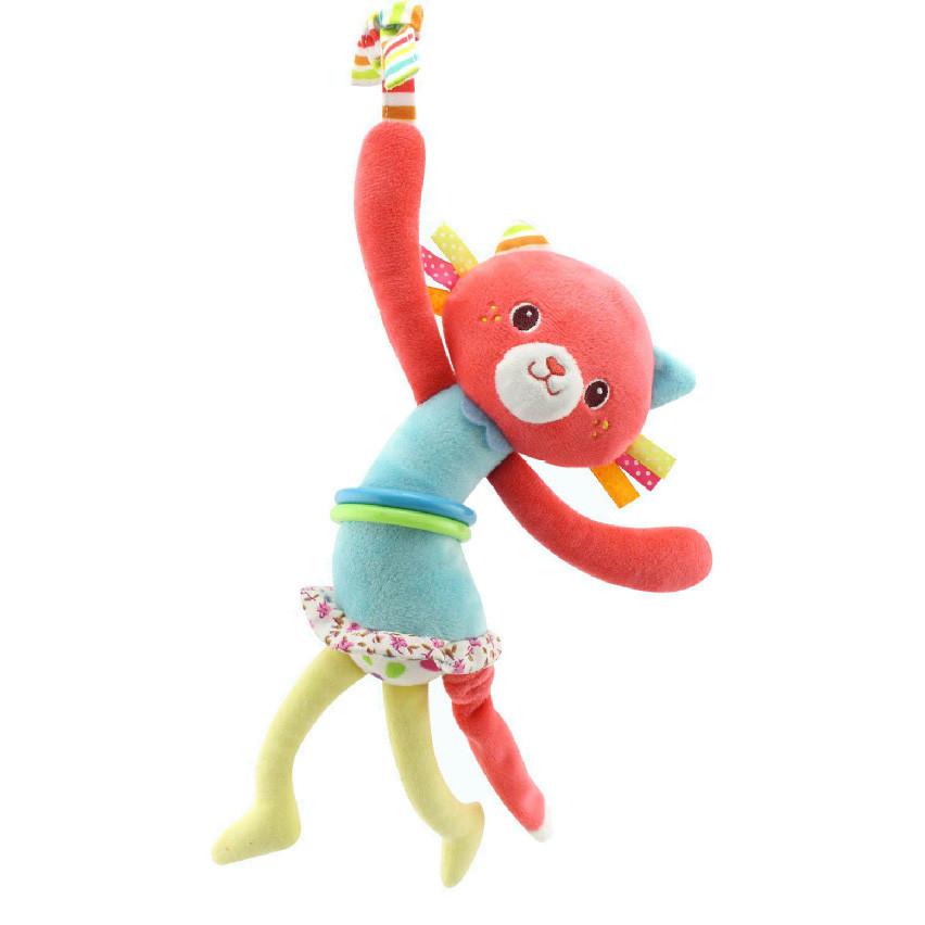 Мягкая подвеска Кошка Happy Monkey