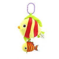 Мягкая музыкальная подвеска Рыбка Happy Monkey