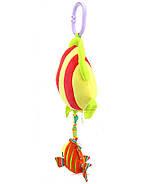Мягкая музыкальная подвеска Рыбка Happy Monkey, фото 2