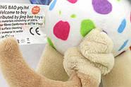 Мягкая подвеска Собачка Happy Monkey, фото 2