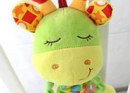 Мягкая музыкальная подвеска Жираф Happy Monkey, фото 3