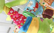 Мягкая музыкальная подвеска Лягушка Happy Monkey, фото 2