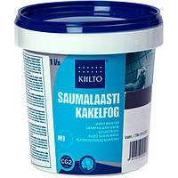 Фуга Kiilto Saumalaasti 38 серо-коричневая 1 кг